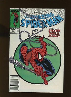 Amazing Spider-Man 301 FN 6.0 *1 Book* 1988 Marvel! Todd McFarlane cover/art!