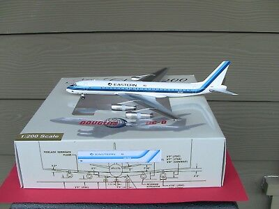 EASTERN AIRLINES DC8 Diecast 1:200