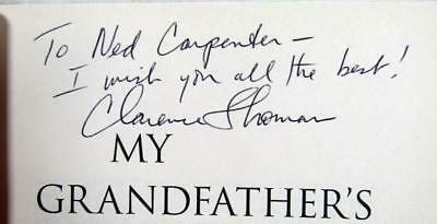 "2007 Justice CLARENCE THOMAS – SIGNED – ""My Grandfather's Son"" – 1st, HC, DJ"