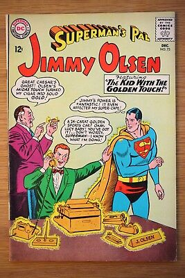 Superman's Pal Jimmy Olsen #73 *VF-* (DC 1963) The Kid with the Golden Touch!!