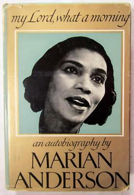 1956 MARIAN ANDERSON – SIGNED Autobiography – Famous African-American Singer