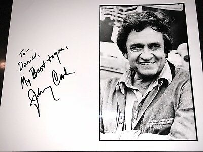 Johnny Cash Authentic Signed Photo