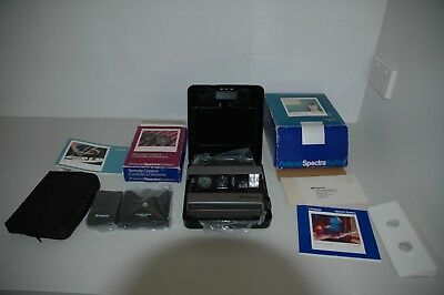 Polaroid Camera Spectra System with remote control Excellent Condition in Case