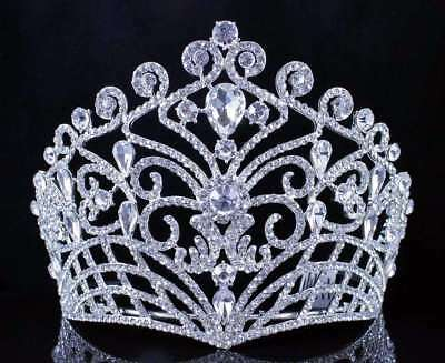 Fashion Party Adult Wedding Party Pageant Prom Tiara Crown Gold Silver 175