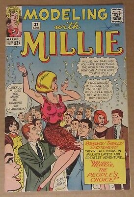 Modeling with Millie #32 (1964, Marvel) VF- 7.5...See description for discounts