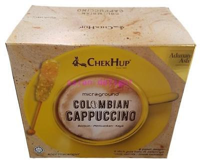 Chek Hup Microground Colombian Cappucino ( 28g x 6 pack ) + rock sugar stick (6)