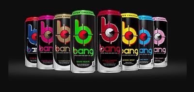 VPX Bang Energy Drink 12 Pack - Pick Your Flavor! NO TAX & FREE SHIPPING!!!