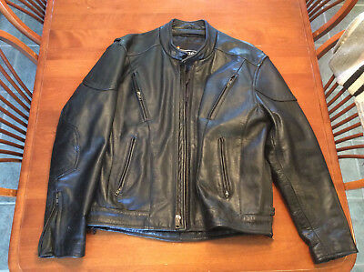 Xelement 5 Xl Men S Leather Motorcycle Jacket New W Tags