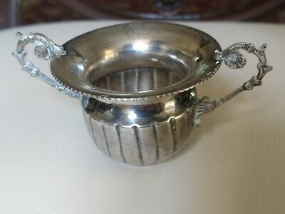 Antique or Vintage 900 (90%) Two-handled Silver Cup or Urn, 40 grams