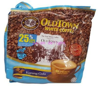 Old Town White Coffee Less Sugar Oldtown 3 in 1 Instant white coffee (35g x 15s)