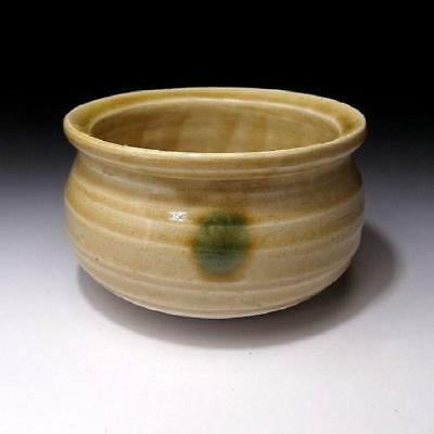 OE8: Vintage Japanese Pottery Tea Ceremony KENSUI bowl, Seto Ware