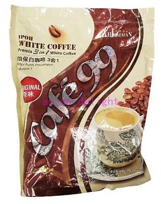 Horseman Cafe99  Malaysia 3 in 1 Instant Premix white coffee Original (40g x15s)
