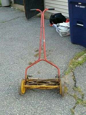 Folbate Vintage Push Reel Mower