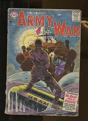 Our Army at War 55 GD/VG 3.0 *1 Book* 1952 DC war! Jerry Grandenetti cover Heath