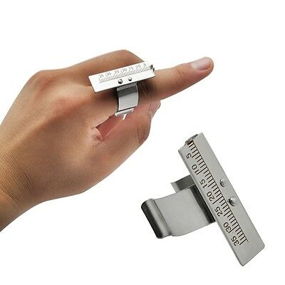 Endo Gauge Finger Ruler Span Measure Scale Endodontic Dental Instrument Ring FDA