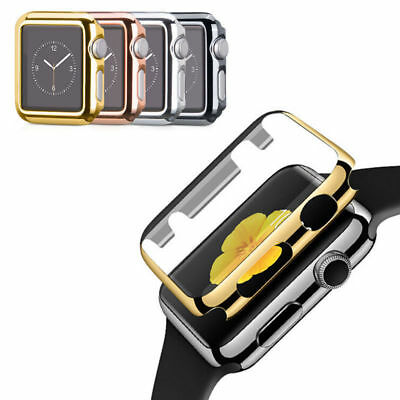 PC Frame Protector Full Case cover fr Apple Watch 42/44mm 38/40mm iWatch 4 3 2 1