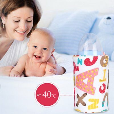 New Portable Travel  USB Baby Bottle Warmer Bag Infant Feeding Bottle Heated Bag