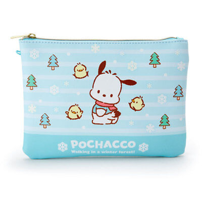 Sanrio Pochacco Flat Pouch Cosmetic Pouch B5999 with tracking no.