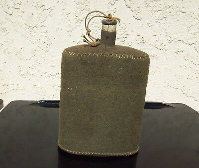 WWI British Army Canteen with felt cover
