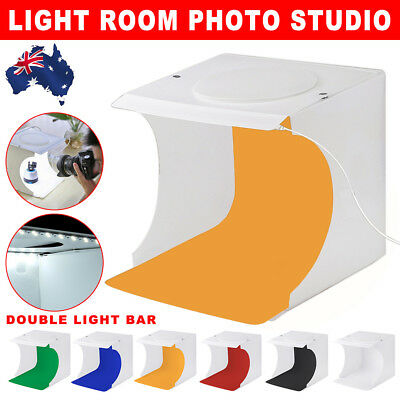 Light Room Photo Studio Photography USB LED Lighting Tent Backdrop Box Cube