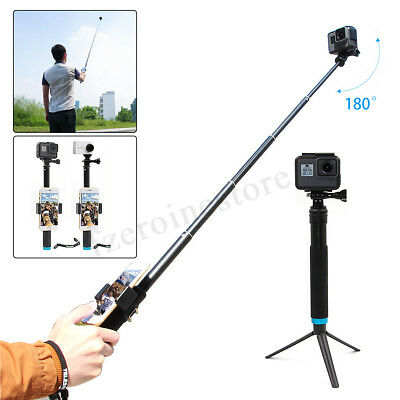 Waterproof Handheld Monopod Tripod Selfie Stick Pole For Gopro Hero 4 5 6