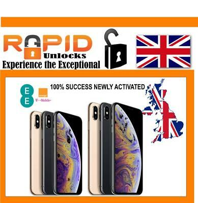 Unlocking Service For Ee Uk Under 6 Months Iphone Xs Max