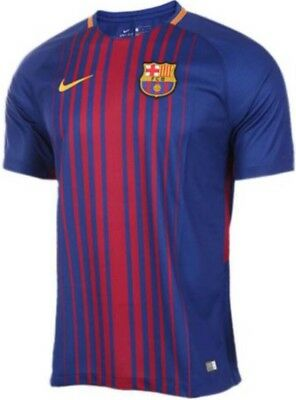 48h-SALE NEW €85 Nike 2018 FC Barcelona Fußball Soccer Football Trikot shirt L
