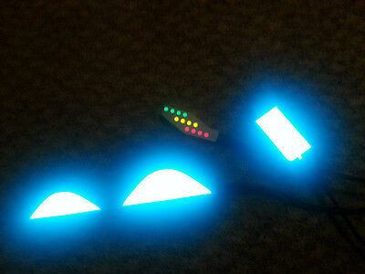 DIY LIGHT UP LIGHTING KIT AIR MAG Marty Mcfly BACK TO THE FUTURE Shoes 2015