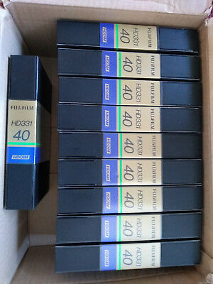 Fujifilm HD331 40 min HDCAM Tapes x 10