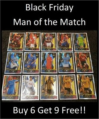 2018/19 Match Attax English Premier League - Man of the Match - Buy 5 Get 5 Free