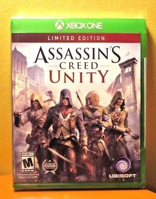 BRAND NEW/SEALED Assassin's Creed: Unity Microsoft Xbox One Game