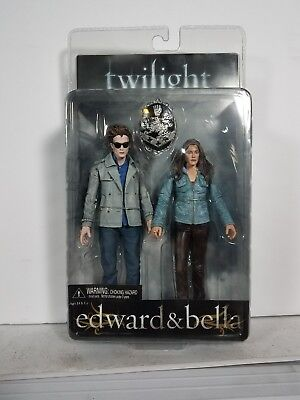 "Twilight Saga Edward & Bella 6"" action figures by NECA/ Reel Toys (2009)"