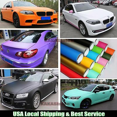 Entire Car Wrap - Flat Matte Finish Vinyl Decal Sticker Sheet Film Air Free ABUS