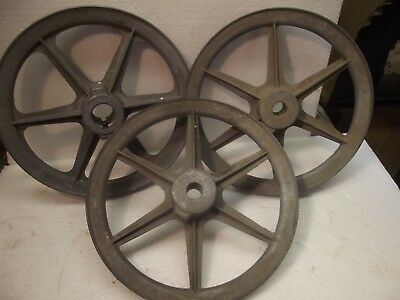 HIT MISS Pulley lot CONGRESS A700 DRIVES 7 INCH  2-3/8 1 3/4 in DETROIT USA
