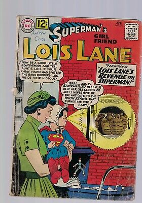 DC Comics Lois Lane No 32 April 1962  12c USA
