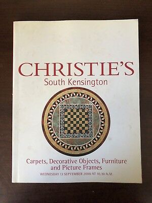 Christie's - South Kensington - Carpets, Decorative Objects, Furniture - 2000