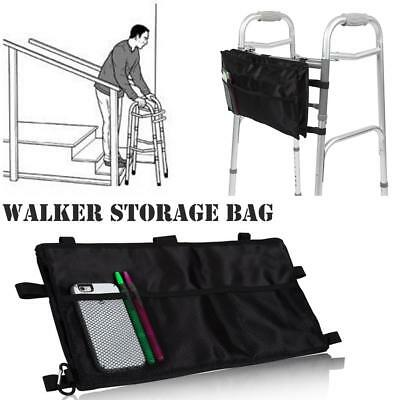 Bag Tote Storage for Walker Rollator Scooter Water Resistant Wheelchair Pockets
