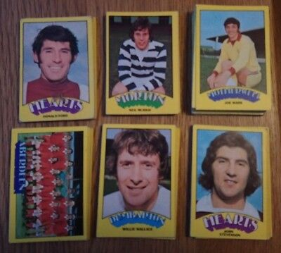 A&BC-FOOTBALL SCOTTISH GREEN BACK 1974 Pick the cards you need