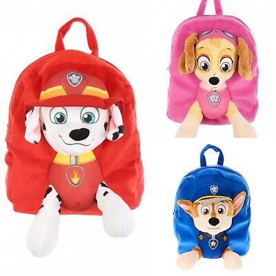 Paw Patrol 3 D Plush Backpack 3 Designs Skye, Marshall And Chase Rrp £19.99