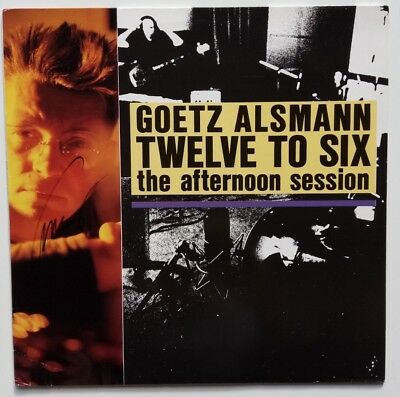 Götz Alsmann - Twelve To Six - the afternoon session - LP mit orig. Autogramm !!