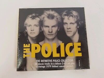 THE POLICE 2-CD Set The Definitive Police Collection New Sealed