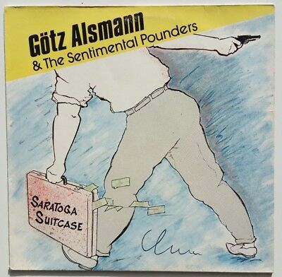 Götz Alsmann & the Sentimental Pounders - Saratoga.... - LP mit Autogramm!!