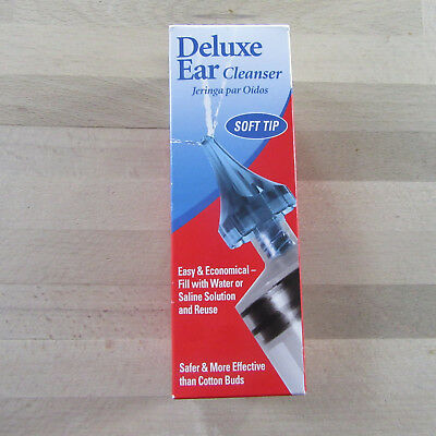 Acu-Life - Deluxe Ear Cleanser - Soft Tip - Safer & More Effective .