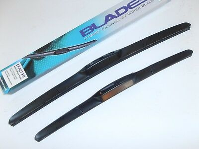 """Wiper Blades Latest Spoiler style 21""""x19"""" HOOK FIT Great Upgrade Sameday Post"""
