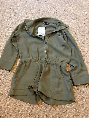 Bnwt Green Playsuit From Next Age 3