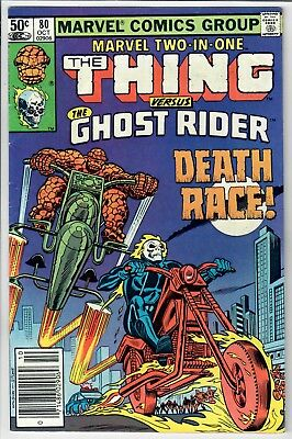 Marvel Two-In-One #80-- Ghost Rider! -- Additional Items SHIP FREE!!
