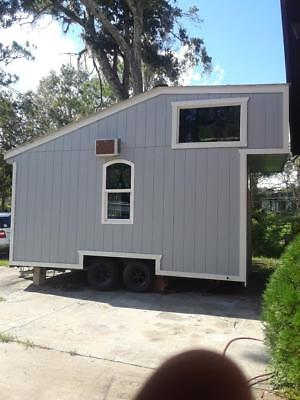"""BRAND NEW TINY HOME;20' LONG X 8'5"""" WIDE X 13' HIGH....OVER 200 sq ft.R/v HOOKUP"""