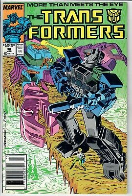 Transformers #38 (Marvel) -- *** Additional items SHIP FREE!~!~!