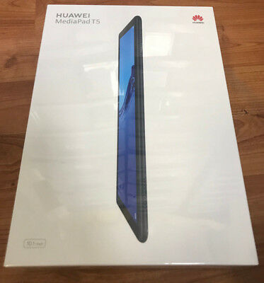 Huawei Media Pad T5 Tablet LTE Schwarz (10,1 Zoll) Full HD (Android 8.0)