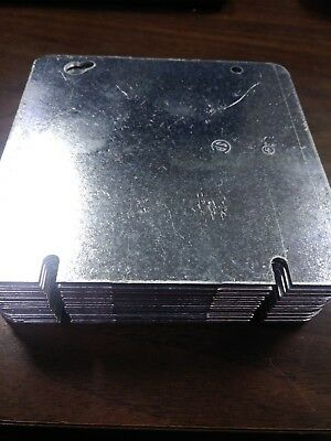 """4-3/4"""" X 4-3/4"""" Square Electrical Box Cover Plate  ~ Qty 20"""